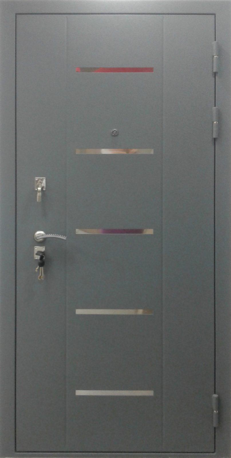 Металлическая дверь с лазерной резкой Э5П5